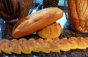Bei Zöliakie wird nur glutenfreies Brot vertragen.